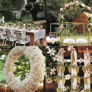 Backyard Wedding Centerpiece Ideas Wedding Decoration Outdoor Backyard Wedding Decoration Ideas