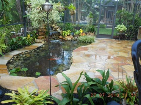 patio koi pond koi pond and flagstone patio 72 flagstone patio pond