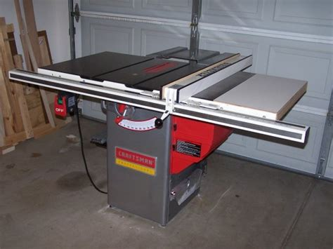 craftsman table saw review review finally a real table saw by randymorter