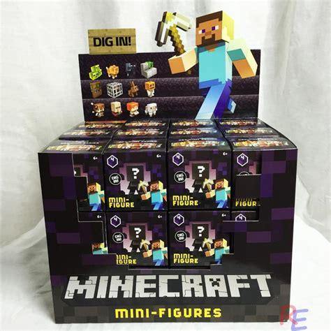 Toys Box 5 minecraft obsidian series 4 blind box 1 in mystery mini
