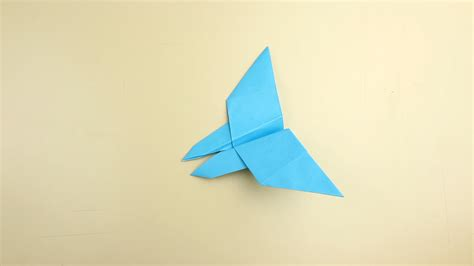 How To Make A Simple With Paper - how to make a butterfly origami with pictures wikihow