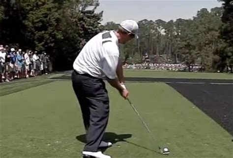 david duval golf swing looking off the ball in the golf swing matt holman golf blog