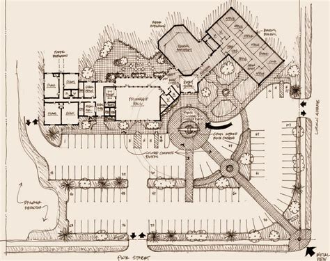 architectural site plan church designs photos studio design gallery best