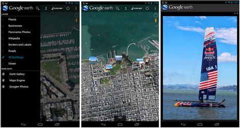 earth pro for android earth for android app now shows geotagged photos