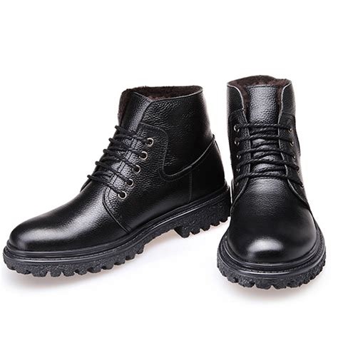 comfortable boots for aliexpress buy 2015 genuine leather winter warm