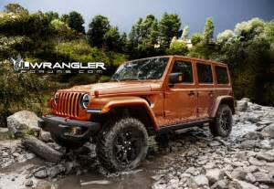 2018 jeep wrangler jl front angle burnt orange photo