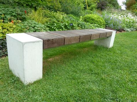 garden concrete bench 17 best images about benches on pinterest outdoor