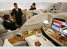 Emirates airline Slovenia, Ljubljana United Airlines 777 Interior