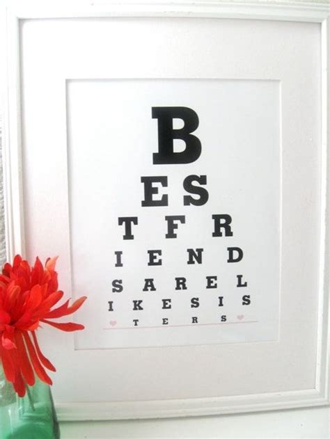 best friend crafts for 150 best images about eye charts on an eye