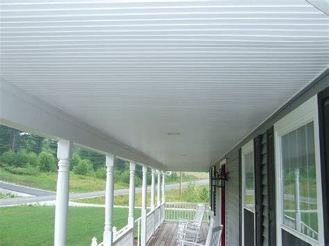 Outdoor Vinyl Ceiling Panels by 17 Best Ideas About Porch Ceiling On Screened
