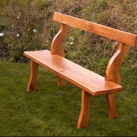 oak garden bench 15 unique garden bench ideas to buy planted well