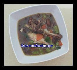 Kompor Inova resep mudah praktis sup kacang merah ayam resep inova