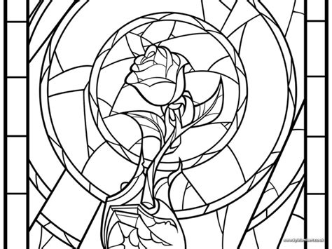 beauty and the beast rose coloring pages beauty and the beast drawings follow kyle lambert