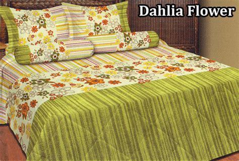 Bed Cover Rumbai Summer Flower Import sprei fata dahlia flower rp 93 000 toko bed