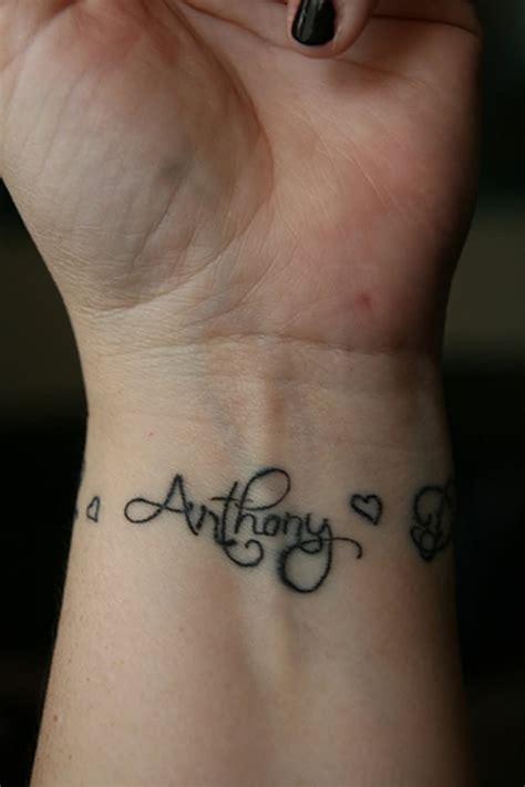 tattoo for girl name 39 name tattoos on wrist