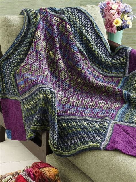 mosaic pattern cause 103 best images about knit blankets on pinterest free