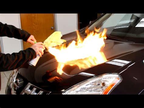 Auto Armor by Auto Armor Paint Protection Test Black Spray