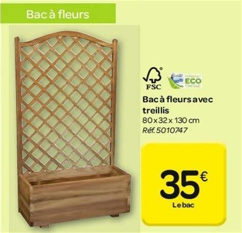 Bac à Fleurs Avec Treillis by Carrefour Promotion Bac 224 Fleurs Avec Treillis Produit