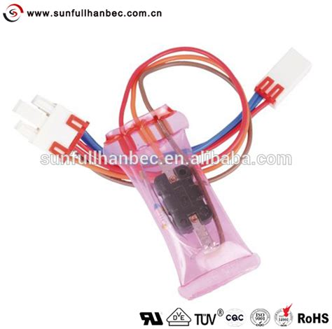 Defros Lg Thermofuse 72c 6615jb2002a defrost terminator samsung lg whirlpool westinghouse bi metal with thermal fuse