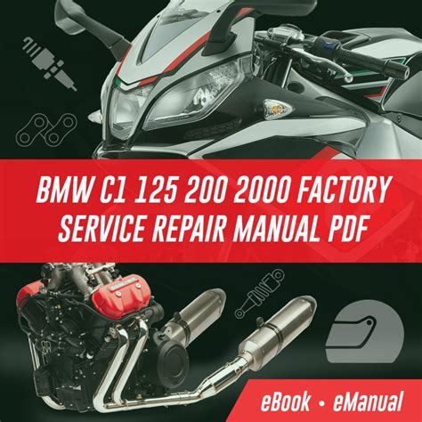 Bmw C1 C1 200 Manual Workshop Service Repair Manual