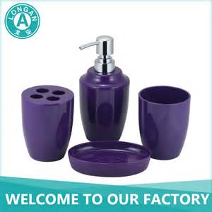 Best Place To Buy Bathroom Accessories Trade Assurance Best Price Acrylic Cheap Purple Bathroom Accessories Sets Buy Purple Bathroom