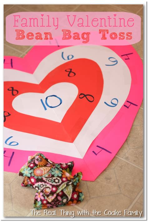 valentines activities activities for the family s bean bag toss