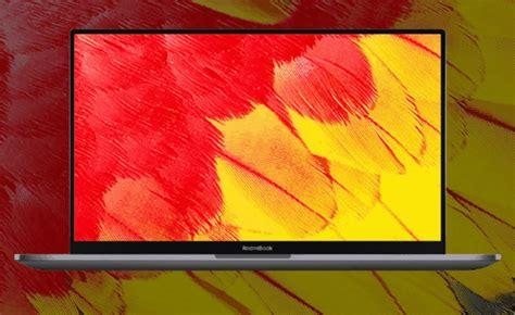 redmibook       display   screen ratio