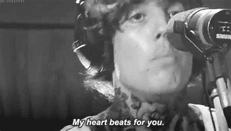 Oli Beat Gif Bring Me The Horizon Bmth Oliver Sykes Cry Gif