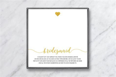 What to Write in a Bridesmaid Thank You Card   Baublebible.com