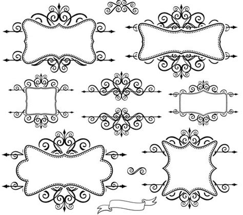 labelblank templates blank ornate labels 1 ai format free vector