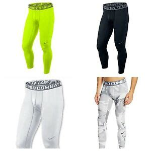 Nike Pro Combat Longpants nike pro combat compression base layer tights dri fit ebay