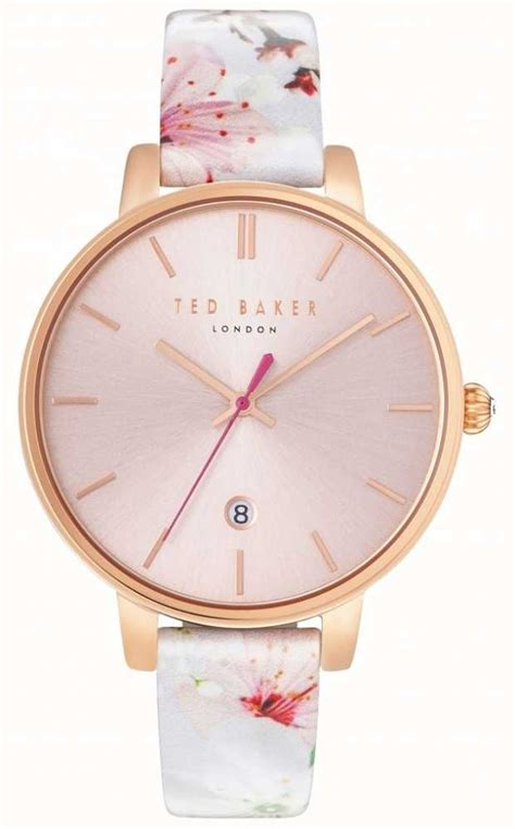 Ted Baker Te10024783 ted baker womans kate floral pink te10031541 class watches