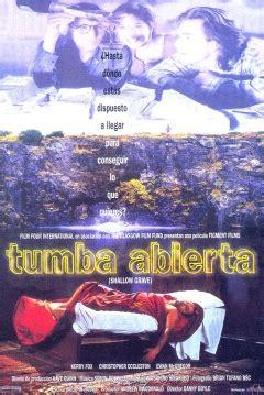libro the shallow grave a pel 237 cula tumba abierta 1994 shallow grave tumba al ras de la tierra abandomoviez net