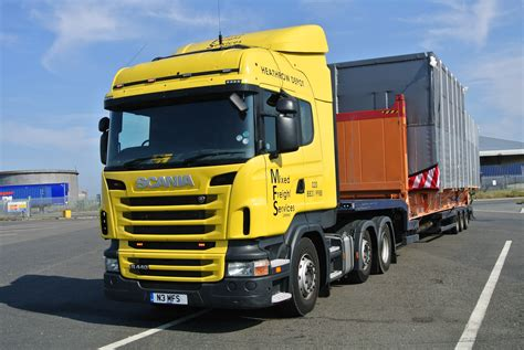 abnormal loads mixed freight services