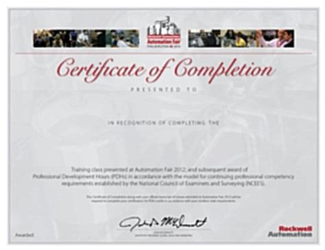 professional development certification program from