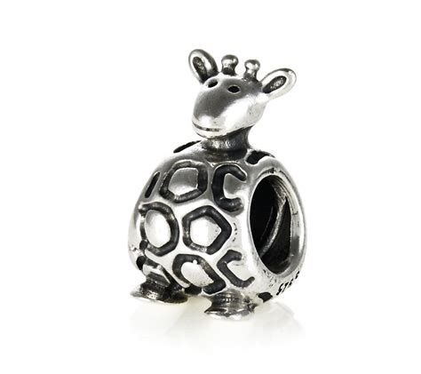 pandora silver giraffe charm 790274 greed jewellery