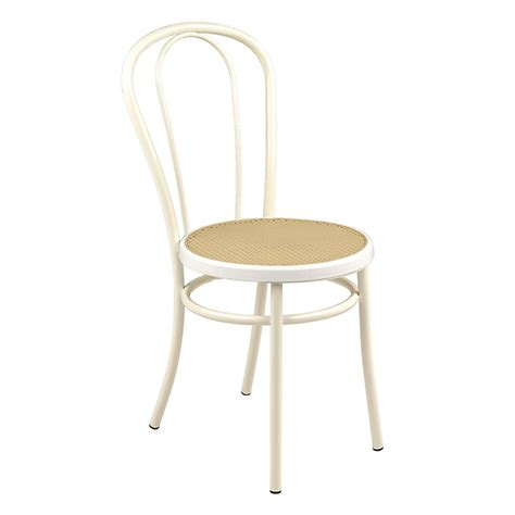 chaise blanche style bistrot bistrot consoles tables