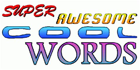 9 Cool Words To Add To Your Vocabulary by Awesome Clipart Clipart Suggest