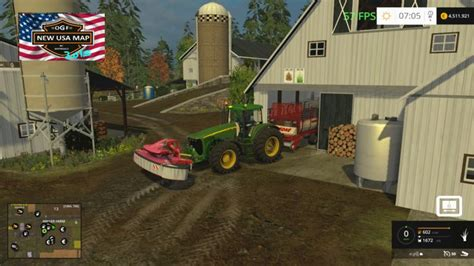map usa farming simulator 2015 ogf usa map v 1 0