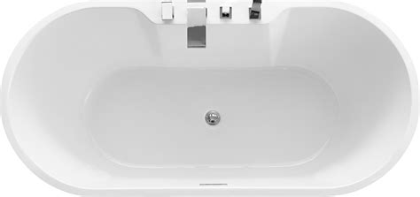 whirlpool wannen freistehende badewanne jazz plus acryl wei 223 170 x 80 cm