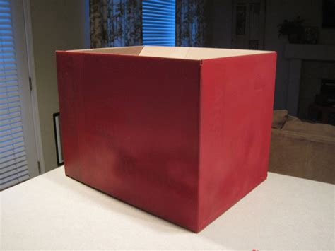 spray paint cardboard mixin diy cardboard box truck