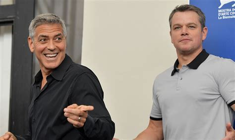 george clooney and matt damon george clooney s are solids