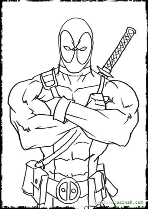 get this printable deadpool coloring pages online 638583