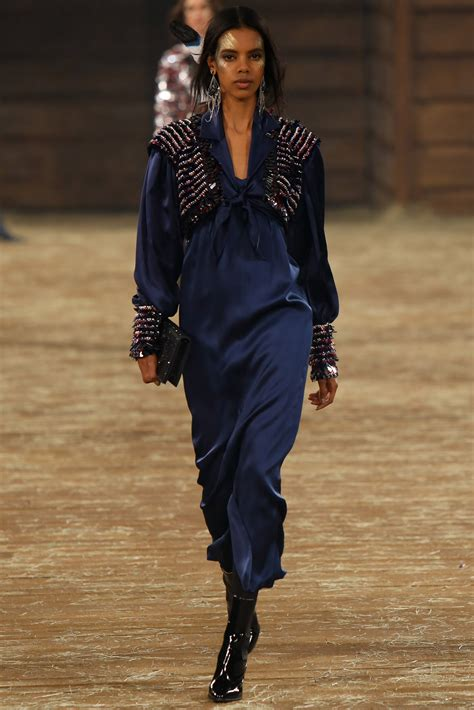 Winter At Chanel by Chanel Pre Fall Cowboys And Indians S Collection 2018