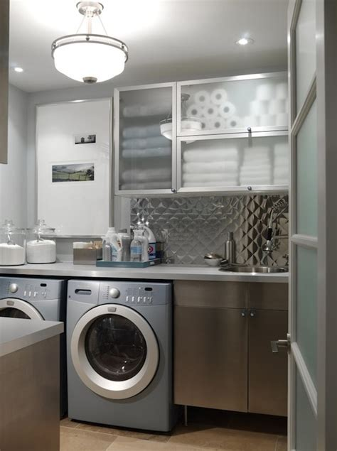 Contemporary Laundry Room Ideas Richardson Laundry Room Contemporary Laundry Room Richardson Design