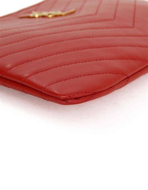 Clutch Ysl Woc Chevron Mirror Sale laurent matelasse leather monogram chevron