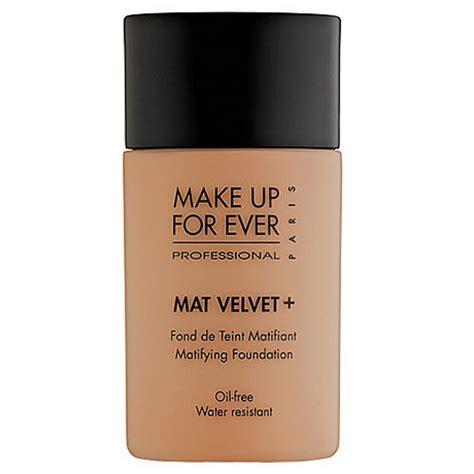 make up for mat velvet matifying foundation 55