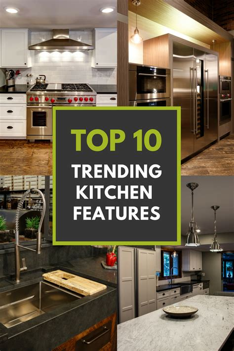 kitchen features top 10 trending kitchen features architectural justice