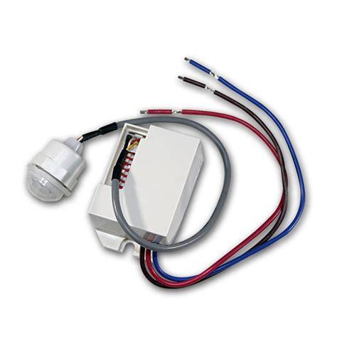 led len innen motion detecor different types movement security light