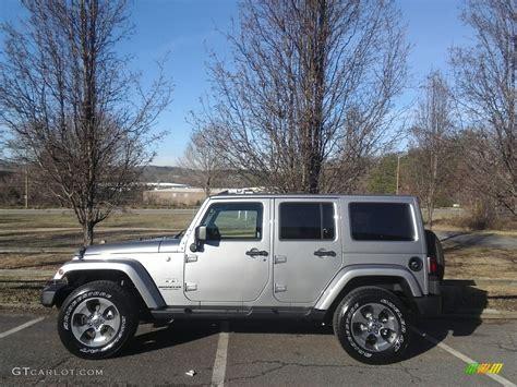 jeep sahara 2017 colors 2017 billet silver metallic jeep wrangler unlimited sahara
